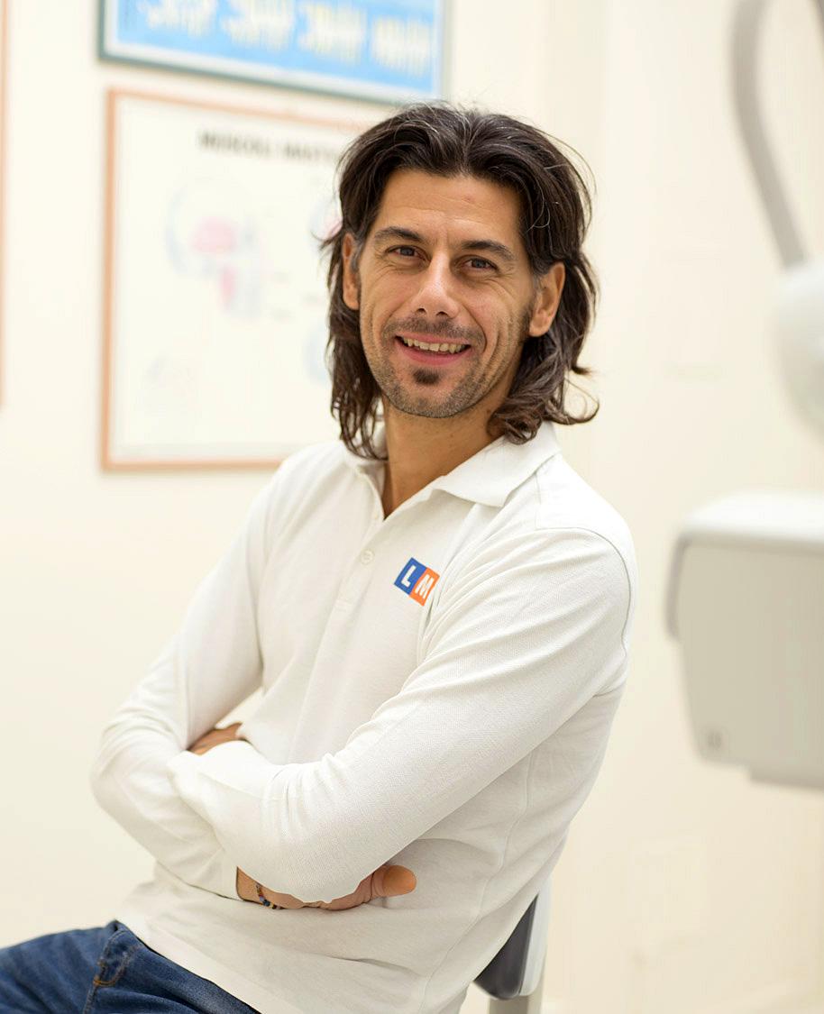 Stefano Passarini, odontotecnico e responsabile delle protesi dentarie